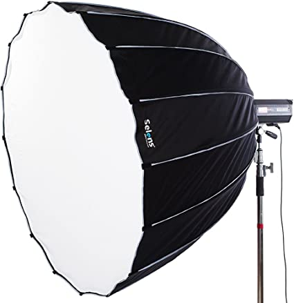LIFE of PHOTO Deep Para-Softbox 150 cm für BOWENS /& METTLE Parabol-Form