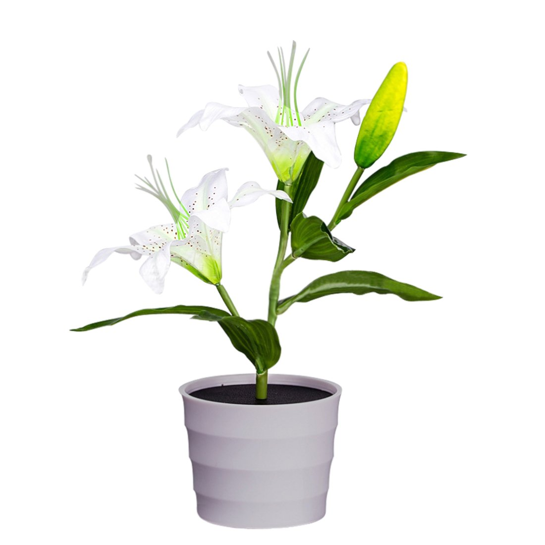 Cheap Penfly Led Wireless Solar Power Decorative Artificial Lily