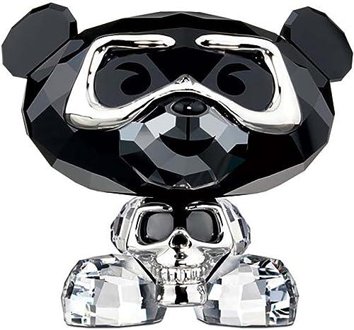 Swarovski Crystal Lovlots 1143383, Bo Bear – Heavy Metal