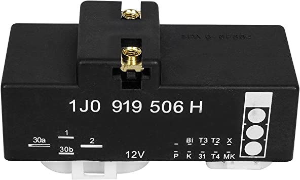 New Cooling Fan Control Switch Relay Radiator Module For AUDI VW 1J0919506H