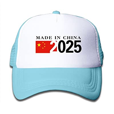 2025 Made in China Boy Girl Adjustable Trucker Visor Caps Mesh Curved Baseball Hats