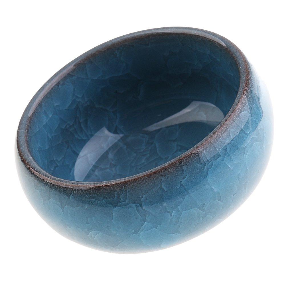 MonkeyJack Mini Universal Calligraphy Writing Painting Brush Bowl Ice Crack Glaze Washing Dish Blue 4336946331