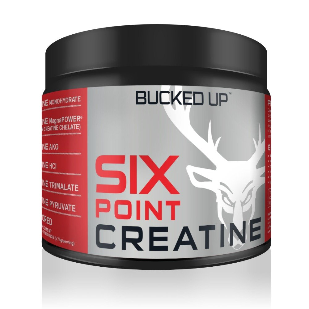 Bucked Up Six Point Creatine™ Six Types of Creatine - For Men and Women