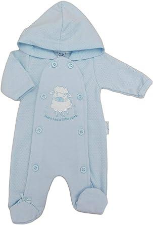 Tiny Baby Premature Jungle Velour Sleepsuit