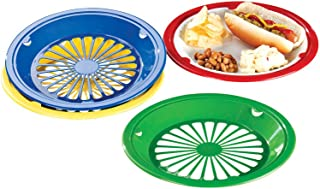 Miles Kimball Plastic Paper Plate Holders - Set Of 8  sc 1 st  Amazon UK : paper plates holders - pezcame.com