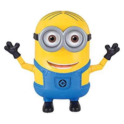 Despicable Me Dancing Dave Action Figure: Toys & Games