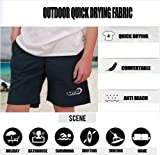 Prefer To Life Men's Beach Shorts Solid Color Board