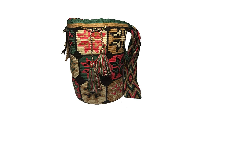 Mochila Wayuu Ethnic 100% Hand Woven Shoulder Bag Multicolor by WAYUU ORIGINAL BAG: Amazon.in: Shoes & Handbags