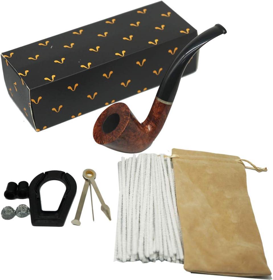 pipe /à tabac en bois de bruy/ère de premi/ère qualit/é fabriqu/ée /à la main KOKOKA Pipe /à tabac en bois