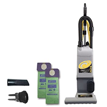 ProTeam ProForce 1500XP Bagged Upright Vacuum Cleaner