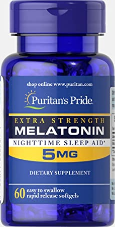 Puritan's Pride Extra Strength Melatonin…