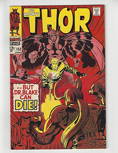 (The Mighty Thor #153/Silver Age Marvel Comic Book/VF-)