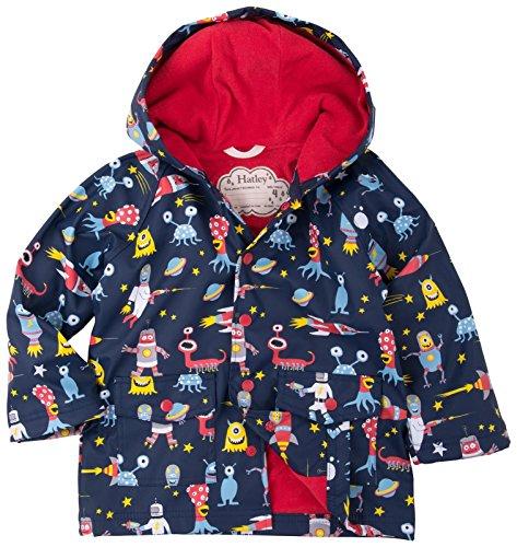Hatley Boys' Classic Printed Rain Jacket