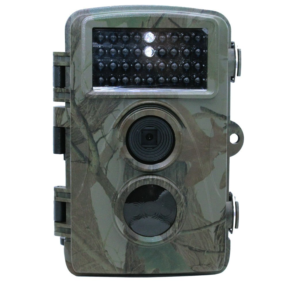Trail Cameras, Hidden Game & Wildlife Hunting Camera 5/3MP Images Shot 720P HD 25fps Recording, Motion Activated, 65ft Infrared Night Vision IP56 Outdoor Waterproof, SD Card Slot, 12 Months Standby