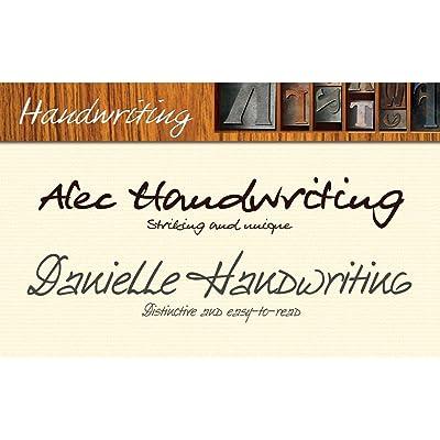 Elegant Handwriting Fonts