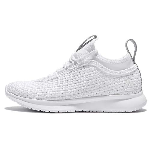 bf02b00d5ab7 Reebok Women s White Skull Grey Slvr Running Shoes-4 UK India (37 EU) (6.5  US) (BS8379)  Amazon.in  Shoes   Handbags