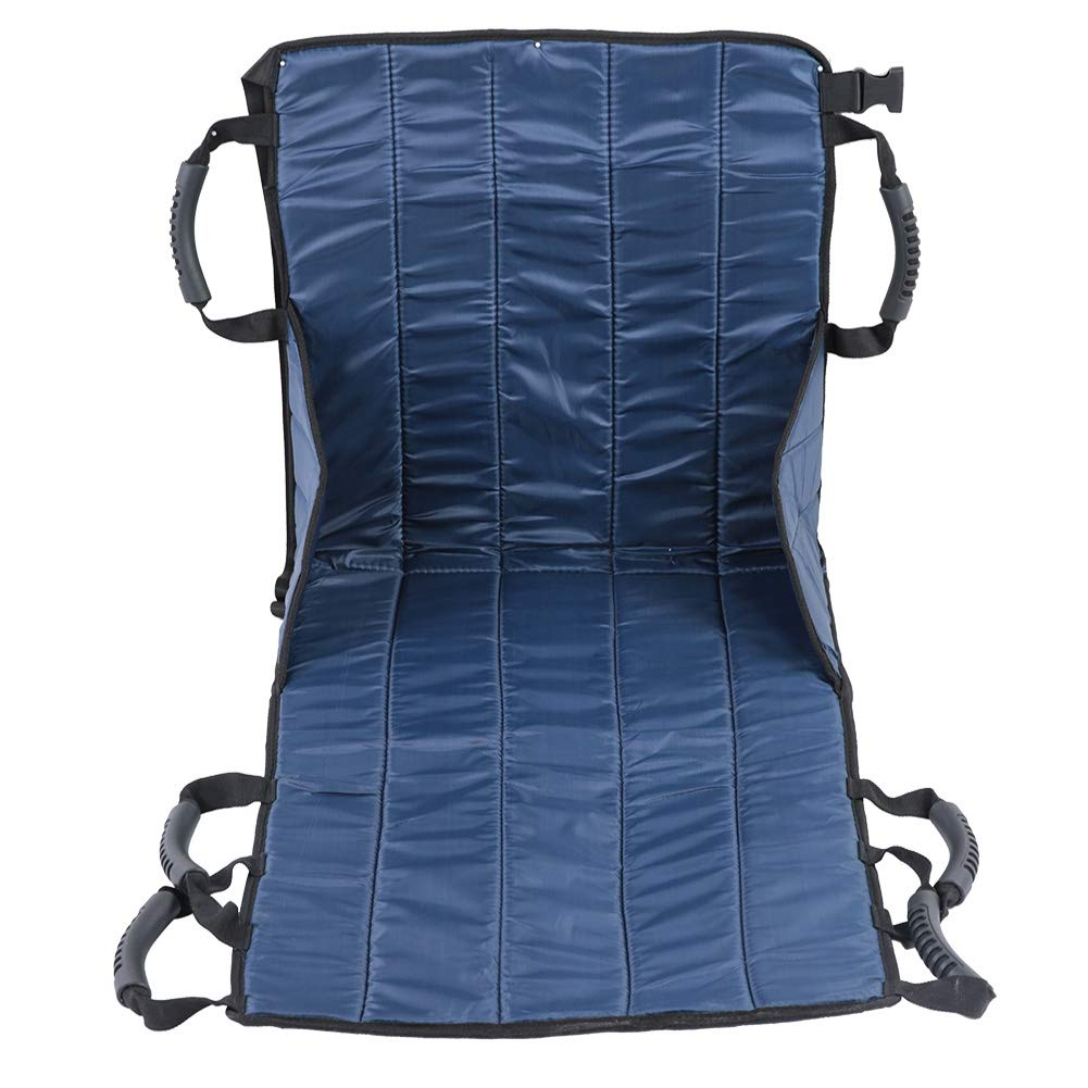Transfer Belt, Patient Lift Sling Transfer Seat Pad Medical Mobility Emergency Wheelchair Transport Belt Emergency Transfer for wheelchairs seat Belt Full Body Doctor Lifting Sling Sliding Disk Transf by Zerone