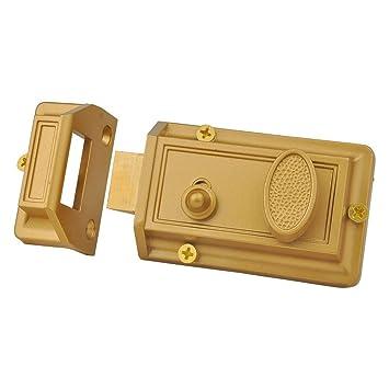 Sumbin Night Latch Deadbolt Rim Lock Antique Locks With Keys For
