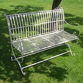 Amazon.de: K&L GARTENBANK ANTIK NOSTALGIE LANDHAUSSTIL NEU ...