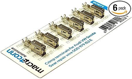 Macroconn crimp terminals for repair wire 000979150E 6 pieces