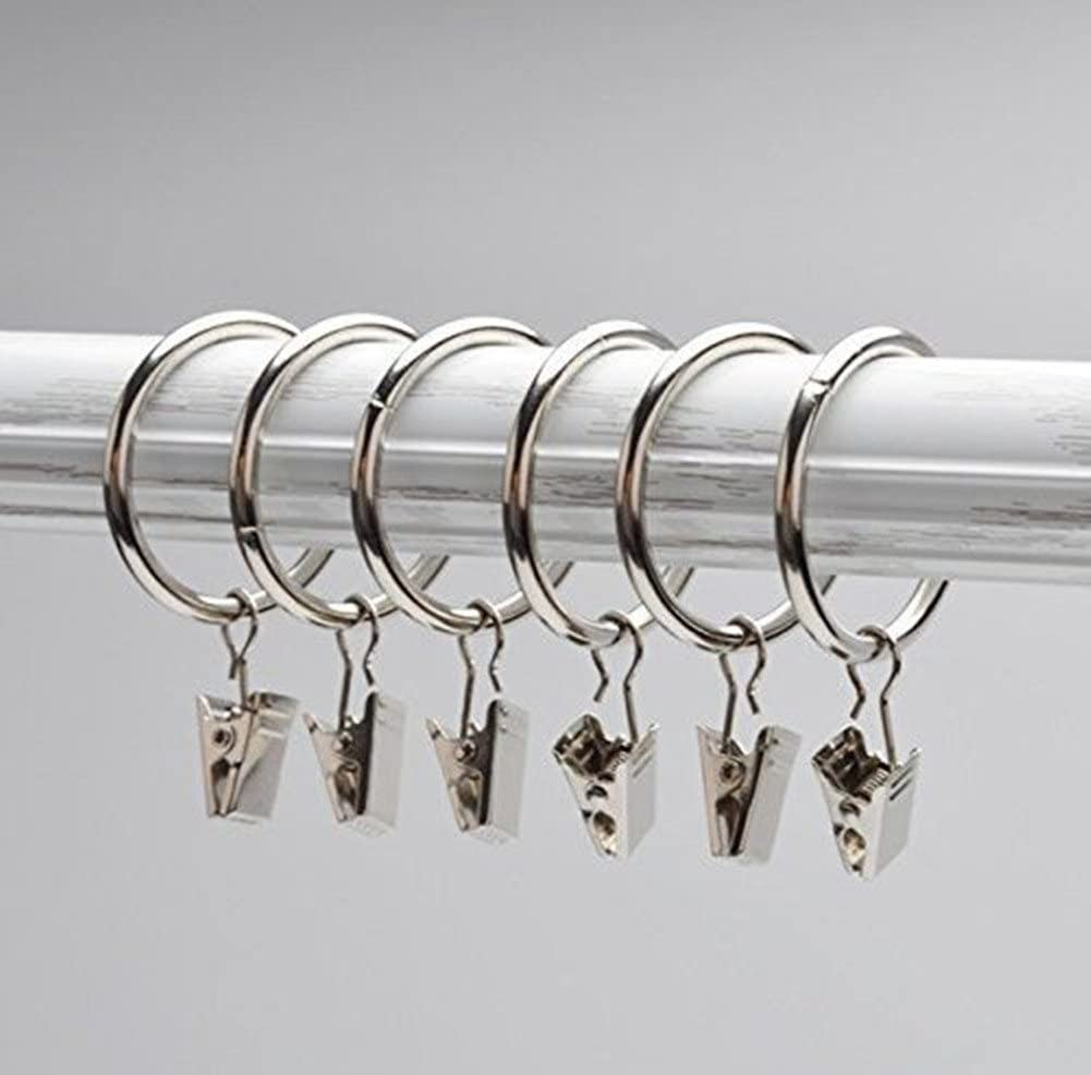 10x STAINLESS STEEL SMALL CURTAIN HANGING BULLDOG CLIPS CLAMPS PEGS FREE POST