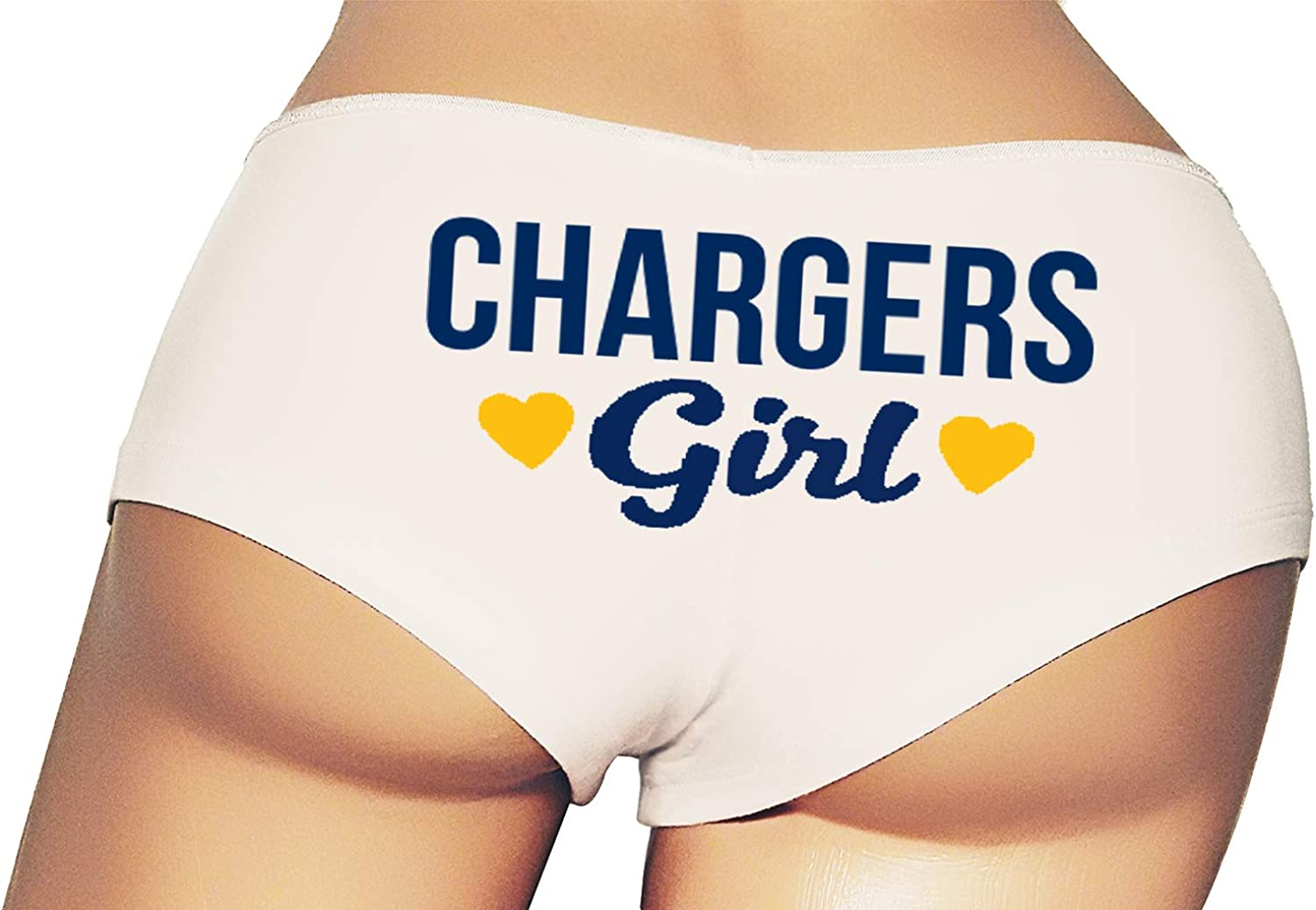 Chargers Girl Booty Shorts