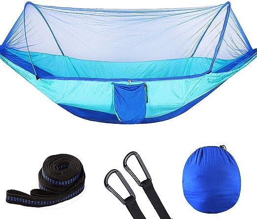 G4Free Portable Camping Pliable Hamac Moustiquaire Net Tente Arbre Lit Suspendu pour Camping en Plein Air Randonn/ée Backpacking Voyage et Int/érieur Cour