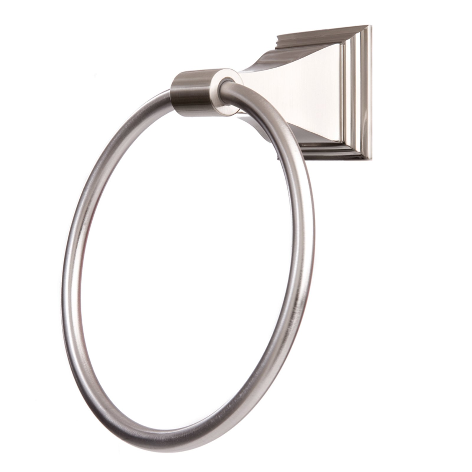 Arista Bath Products Leonard Series Towel Ring, Satin Nickel by Arista Bath Products