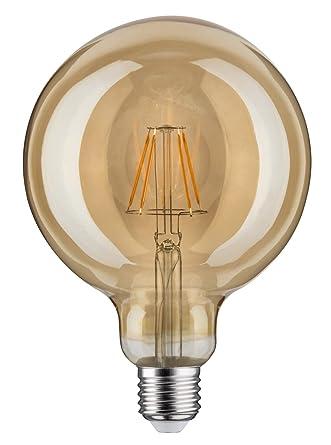 Paulmann 283.81 LED Globe 125 6,5 W E27 230 V oro blanco cálido 28381