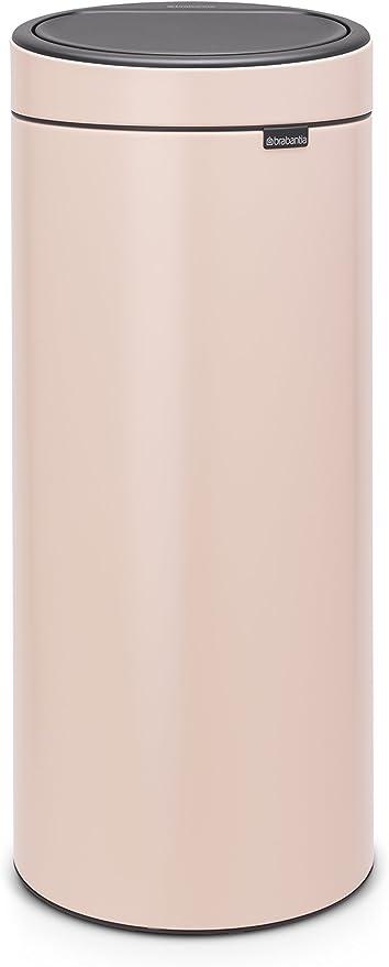 Brabantia 115226 Poubelle Touch Bin Unie New 30 L Rose