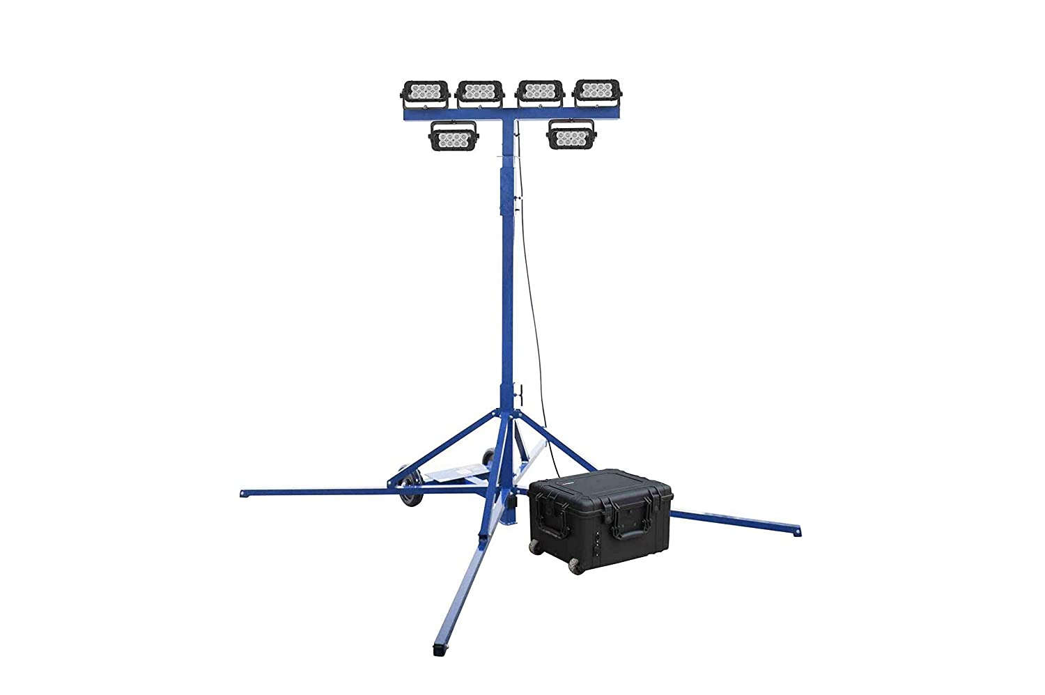 Portable Infrared LED Tower-Spot//Flood- IR LED Lights 6 Rechargeable Li-ion Battery -Tower Mount