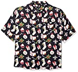 NFL Mens Floral Tropical Button Up Shirt