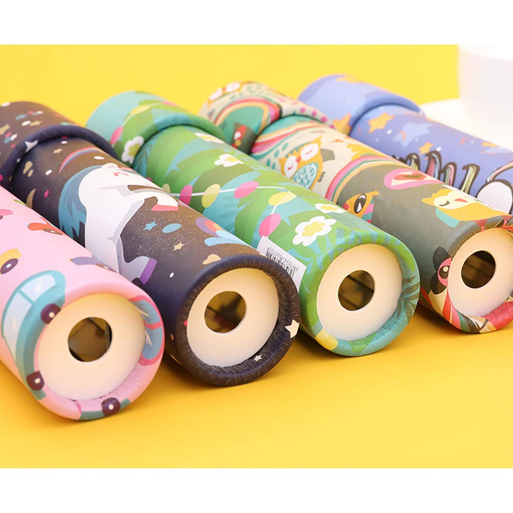 MEYUEWAL 6 Pack Magie Kaleidoskop Klassisches Spiel Lernspielzeug Kinder Party Spielzeug f/ür Kinder Kinder 6 Farben