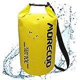 ドライバッグ 防水バッグ ビーチバッグ ドラム型 5L/10L/20L 強力な500D PVCタープ プールバッグ アウトドア カヤック ラフティング ボート 水泳 温泉 キャンプ ハイキング ビーチ お釣りなどに適用 手提げ/肩掛け可能 防災バッグ