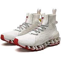 Love + Nothing Tenis para Hombre, Calzado de Entrenamiento Sneaker Deportivo Casual - Areal MAX Pro Air 300 Mid Top…