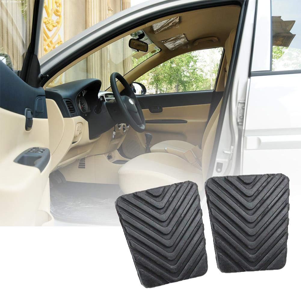 IrahdBowen Bloc de Pedal de Freno de Goma para Hyundai Accent Car Accessories 2 Piezas, Color Negro, de la Marca: Amazon.es: Coche y moto