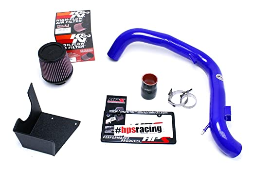 Amazon.com: HPS 27-553BL Blue Cool Ram Air Intake Kit with Heat Shield (Cool ram SRI): Automotive