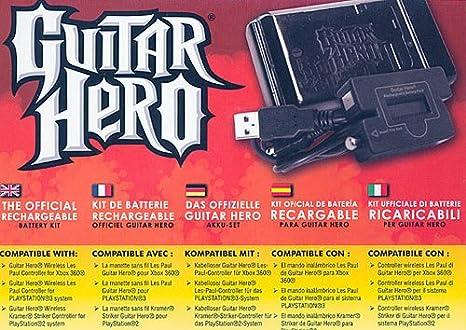 Guitar Hero - Pack batterie Rechargeable [Importación francesa]: Amazon.es: Videojuegos