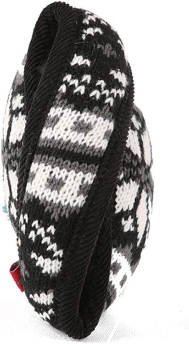 Behind The Head Style Winter Plaid Earmuffs Adjustable Wrap for Men /& Women DOLA Fleece Ear Muffs//Ear Warmers Foldable