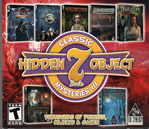 Classic Mysteries III Hidden Object 7 Pack PC Game (Hidden Objects Computer Games)