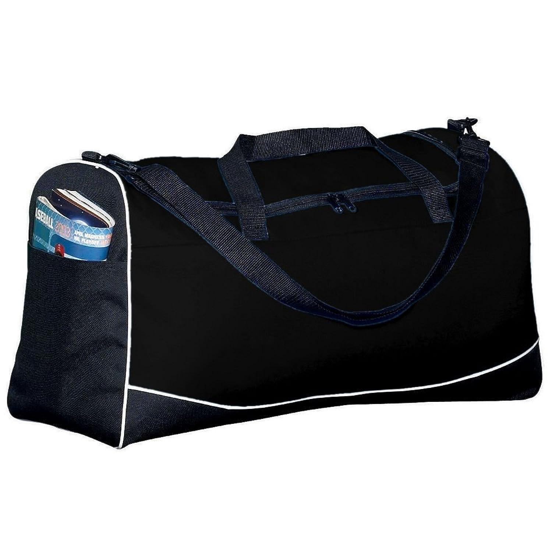大3色スポーツバッグ – ブラック B005L4OV8M