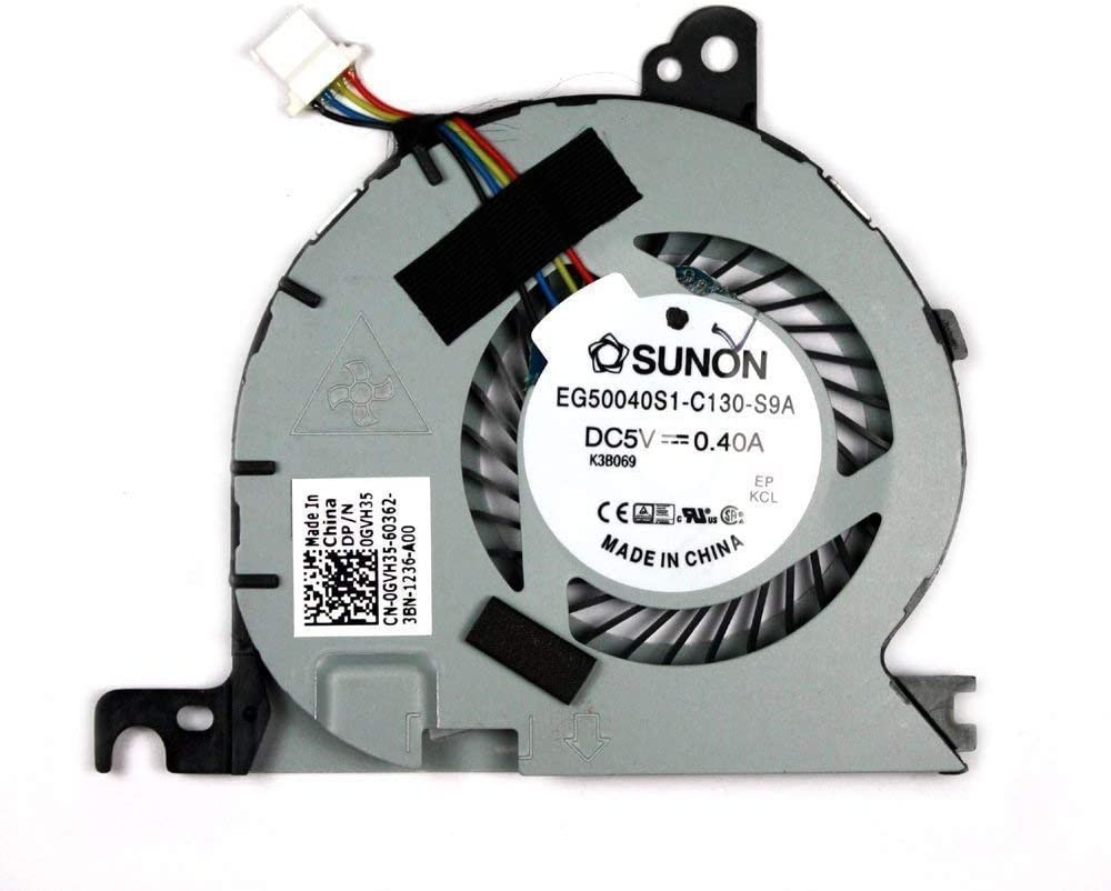 WEIMEI Replacement CPU Cooling Fan for Dell Latitude E7240 e7240 KSB0605HC CL1N 0GVH35 GVH35 DC28000D60DL