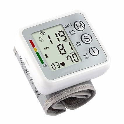 Myyxt Monitor electrónico de la presión arterial Tensiómetro de voz con pantalla LCD digital , B