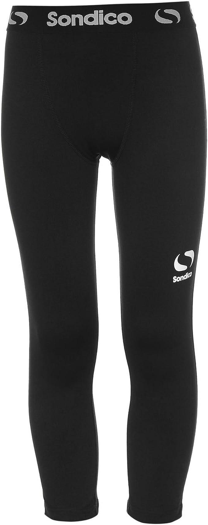 Sondico Jungen Core Baselayer Leggings Sport Training Rot 7-8 Jahre