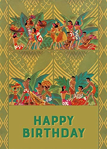 Aloha Birthday Postcards 100
