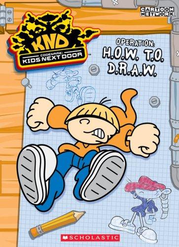 Codename: Kids Next Door: How To Draw