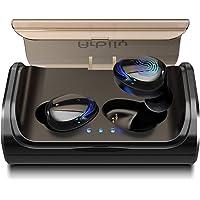 Arbily Auriculares Bluetooth, Auriculares Inalámbricos Bluetooth 5.0 Estéreo Hi-Fi Sonido IPX7 Resistentes al Agua, 90 Horas Autonomía 3000mAH Estuche de Carga para la Mayoría de Móviles