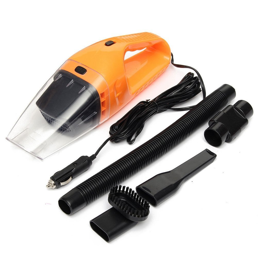 SODIAL(R) 1 set 120W Handheld Wet & Dry Car Auto Vacuum Cleaner Portable Chargeable Home 12V