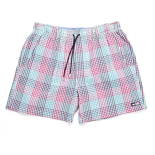 Southern Marsh Dockside Swim Trunk - Seersucker - Seersucker Gingham Shorts