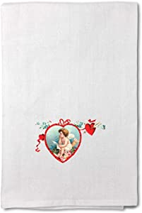 Style In Print Custom Decor Flour Kitchen Towels Valentine Vintage Look Holidays and Occasions Day Holidays and Occasions Valentines Day Cleaning Supplies Dish Towels Design Only